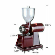 Multifunction Electric Automatic Coffee Grinder Milling Burr Espresso Bean Home