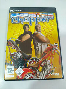 American Chopper Activision - Set Für PC 4 X Cd-Rom Spanien