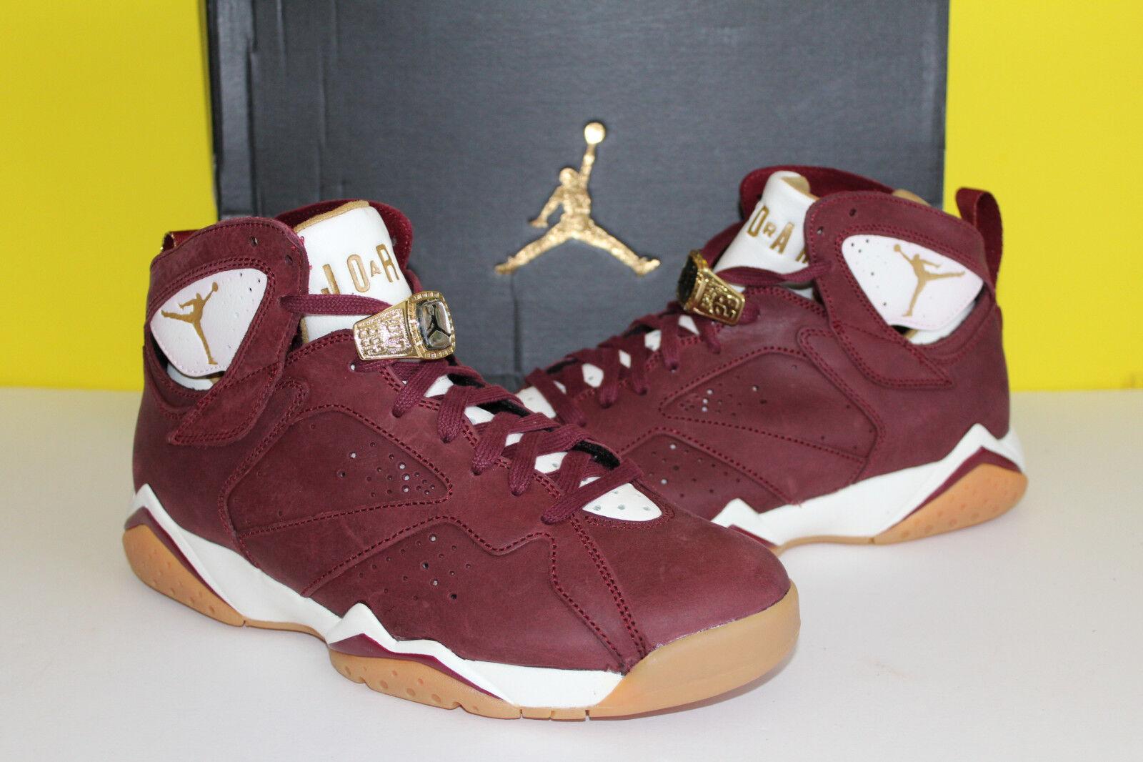 Nike Air Jordan Retro VII 7 C&C Cigar Size 8 Team Red Gum Sole 725093 630