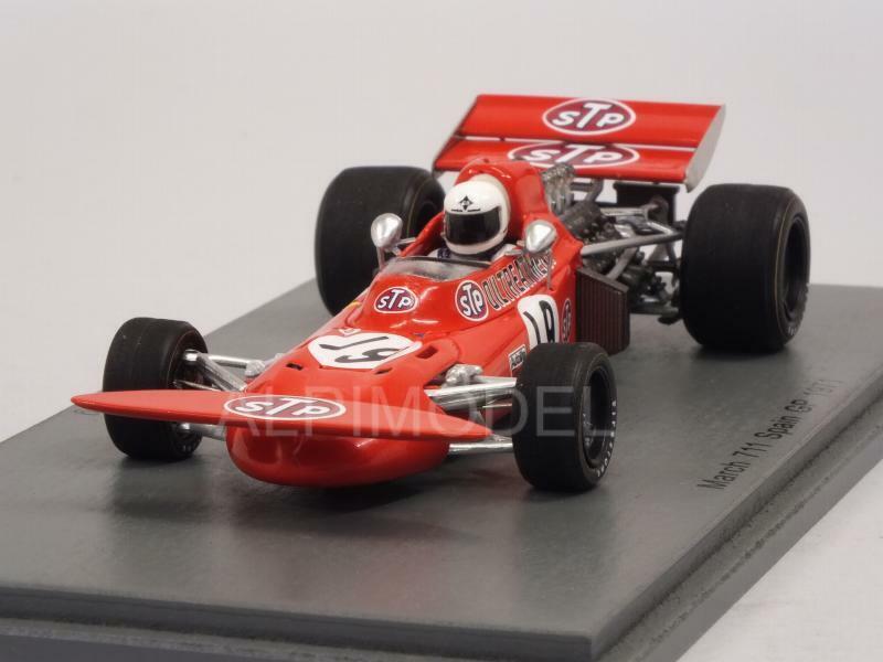 March 711 GP Spain 1971 Alex Soler-Roig 1 43 SPARK S7160
