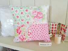 Cath Kidston Provence Rose Candy Flowers Patchwork Cushion Kit Sewintocrafts!