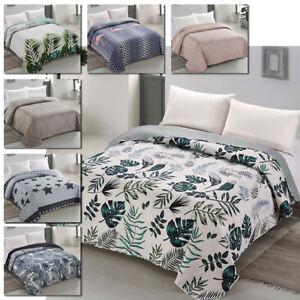 Bettüberwurf Für Doppelbett.Luxus Bettuberwurf Tagesdecke Doppelbett Bettgarnitur Wendedecke