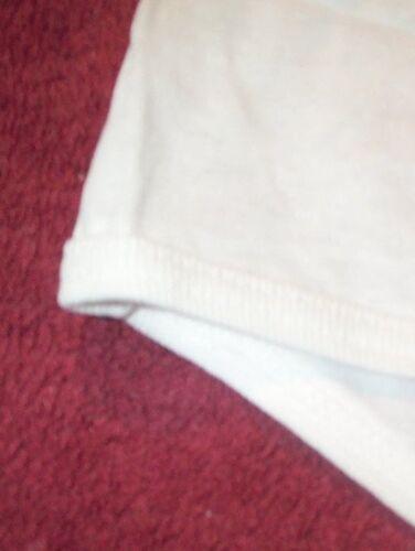 3 Pair Size 5 White 100/% COTTON Narrow Band LEG PANTY w// Covered Waist Elastic