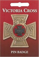 Victoria Cross British War Medal Pin Badge