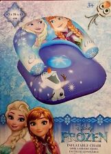 NEW DISNEY FROZEN ANNA ELSA OLAF SNOW INFLATABLE CHAIR BEST FOR KIDS