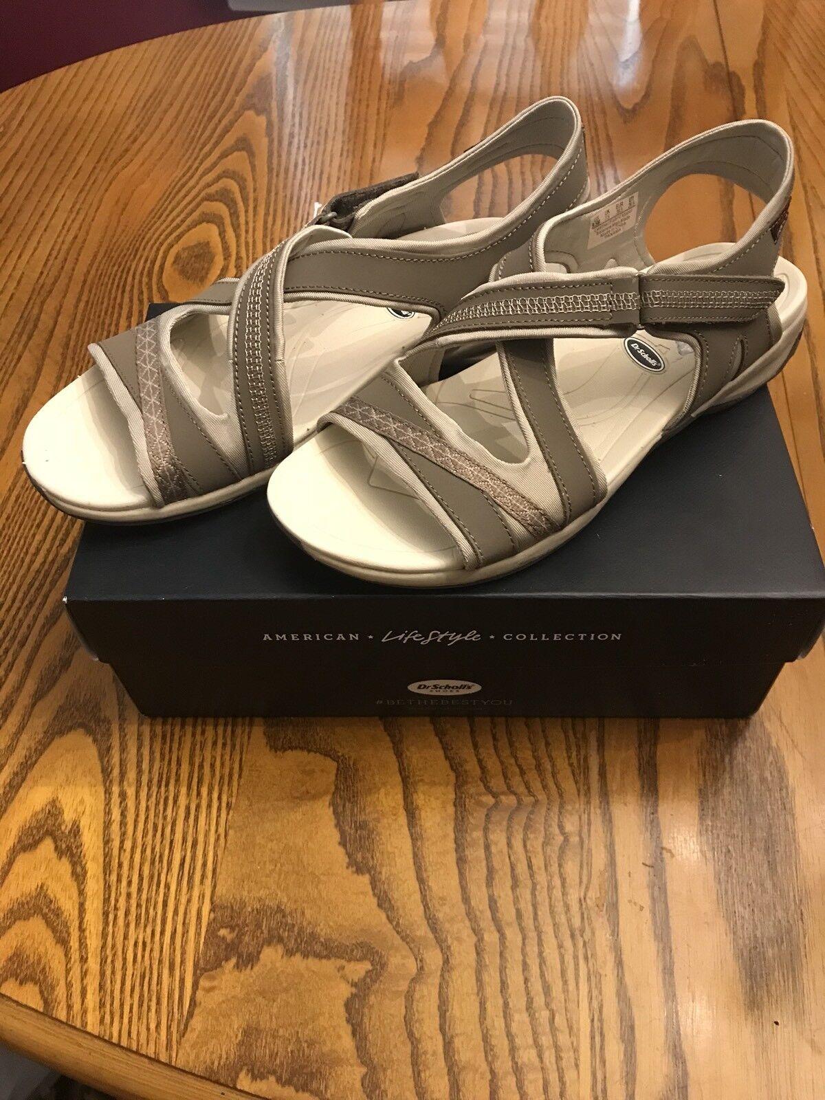 NEW Women's  Dr. Scholls  Panama  Tan Taupe Sport Sandals shoes