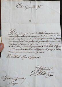 1776-19-LETTERA-DEL-CARDINALE-VINCENZO-MARIA-ALTIERI-CON-TIMBRO-POSTALE-A-SECCO