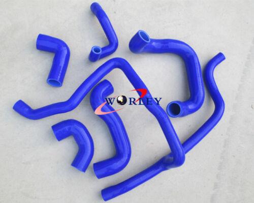 BLUE Silicone Radiator Hose for BMW E30 M20 320i//325i 1989-1992 89 90 91 92