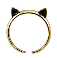 In Your Dreams cat Ears Gold Plated Adjustable Cat Ring