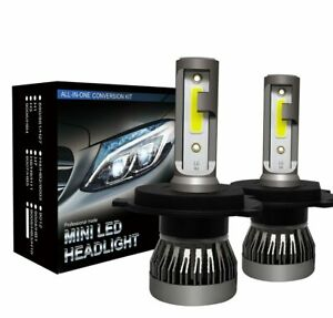 2-Ampoules-H4-LED-Phare-Voiture-72W-9000LM-Feux-Remplacer-HID-Xenon-Lampe-6000K