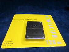 128MB Memory Card Data for Sony PlayStation 2 Slim Game Console