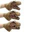 caoutchouc souple réaliste RAPTOR dinosaure Head Apanda Dinosaure Marionnettes Jouets