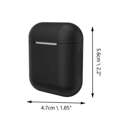 Para Apple AirPods Auriculares Silicona Funda Cubierta Anti pérdida Correa Cuerda