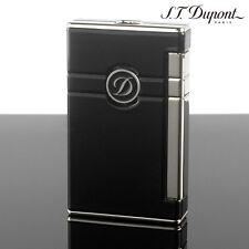 S.T. Dupont Ligne 2 Torch Lighter Black Lacquer & Palladium Finish (023004)