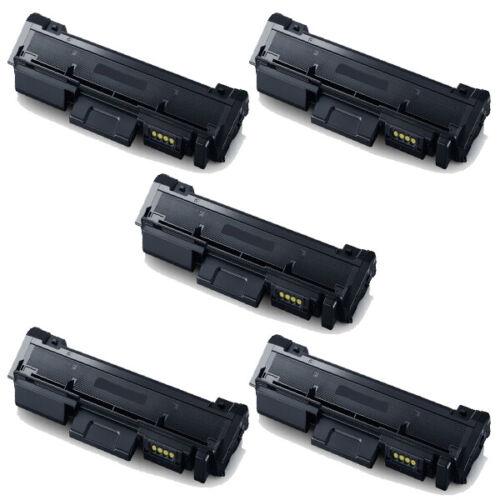 5 pk MLT-D116L Toner Cartridge for Samsung SL-M2625D SL-M2825DW Printer HI-QTY!