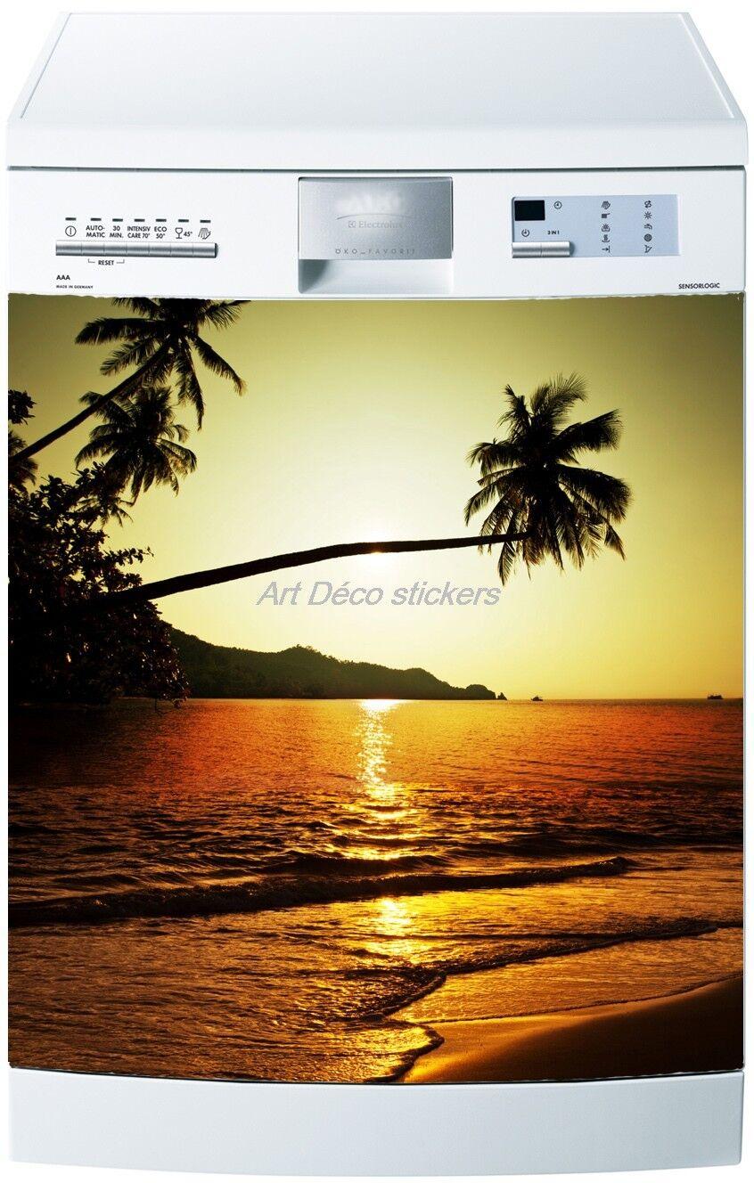 Adesivo Lavastoviglie Decocrazione Elettrodomestici Tramonto Ref 227 60x60cm