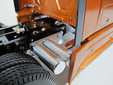 Aluminum Simulate Dual Air Oil Fuel Tanks look Tamiya RC 1/14 Semi King Hauler