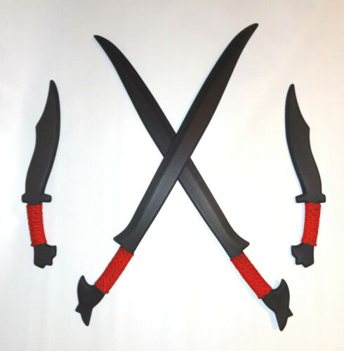 Practice Polypropylene Sword Philippines Pinuti Training Filipino Knives Red Set