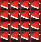 Red Felt Santa Hats Wholesale Christmas Santa Party Office Bulk Fancy Dress Xmas