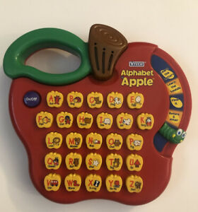 Vtech Alphabet Apple Electronic Phonetic Learning Toy (Teaching Aid, Homeschool)