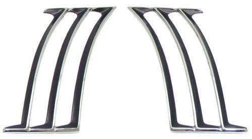 1969 Camaro Quarter Panel Side Louvers  GM# 8701059 /& 8701060