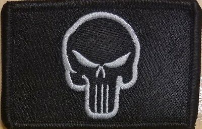 """Custom Embroidered Vertical 6/"""" x 1 1//2/"""" Name Tag Patch W// VELCRO® Brand Fastener"""
