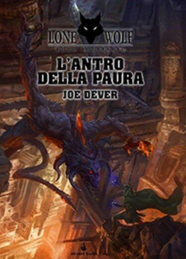 spelbok  Lone Wolf, Lupo Solitaire, Vol. 9  L'Antro av Paura, Italiano