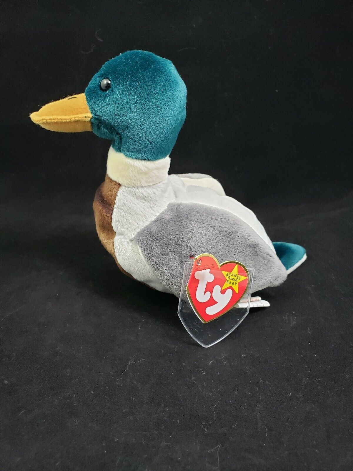 TY Beanie Baby Jake Rare with Errors1997 1998 Tag Errors Tush Tag Red Stamp