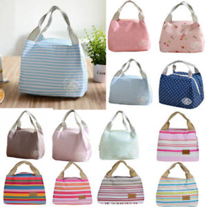 67217e61b789 Details about Portable Insulated Thermal Cooler Lunch Box Carry Tote Picnic  Case Storage BagXI