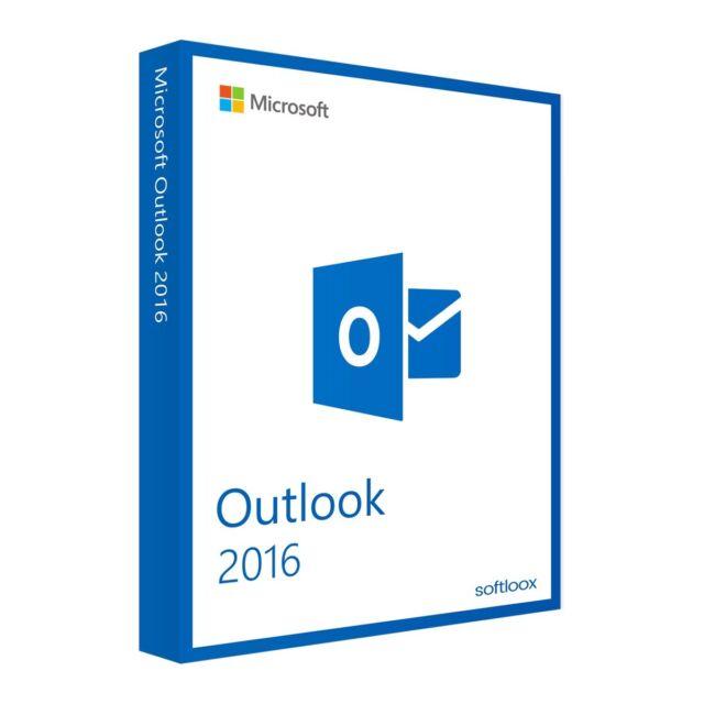 Microsoft Outlook 2016 1PC - GENUINE LICENSE KEY - 32/64 Bit