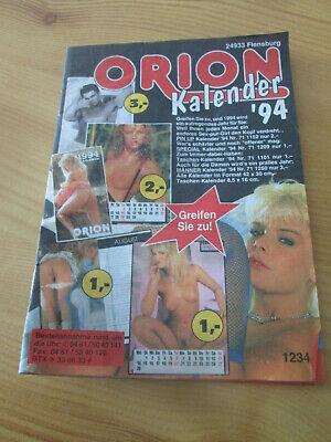 #1234# Älterer kleiner ORION-Katalog | eBay