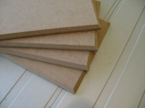 Wooden MDF Blank Plaques Signs Chamfered Edge 200mm x 100mm x 6mm wall hanging