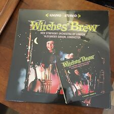 WITCHES BREW, ALEXANDER GIBSON NEW SYMPHONY ORCHESTRA 180 GRAM VINYL LP & CD