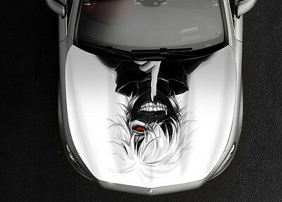 Tokyo Ghoul 1# Car Hood Wrap Full Color Vinyl Sticker Decal Fit Any Car