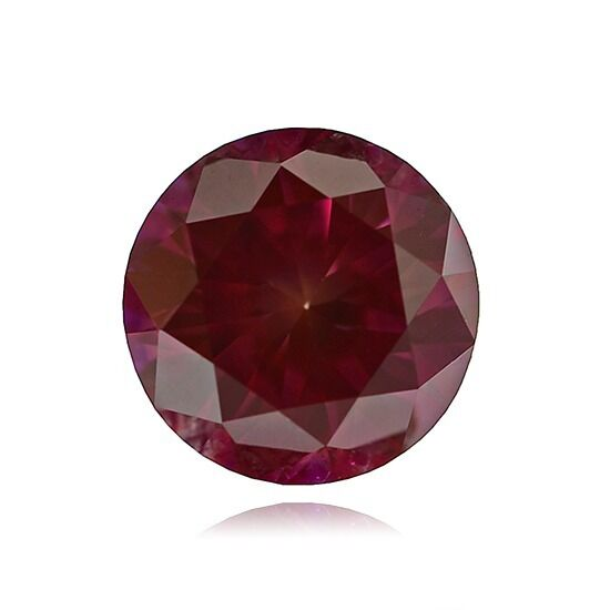 GIA Certified 1.23 ct Fancy Purplish RED Color VS1 Round Loose Natural Diamond