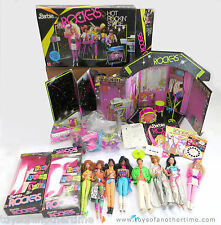 Barbie and the Rockers Large Lot Dolls Stage Concert Drums 1980s Collection