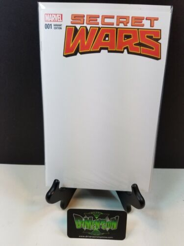 Marvel Comics Get Yours for Your Next Con! Secret Wars #1 Blank Variant NM NOW