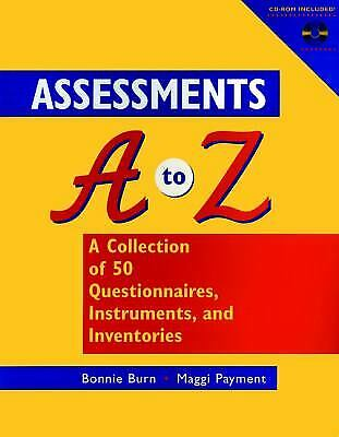 Assessments A-Z : A Collection of 50 Questionnaires, Instruments and I-ExLibrary