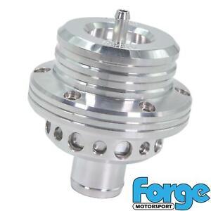 FORGE-Motorsport-atmosferico-a-doppio-pistone-BLOW-OFF-VALVOLA-DI-SCARICO-in-Chrome