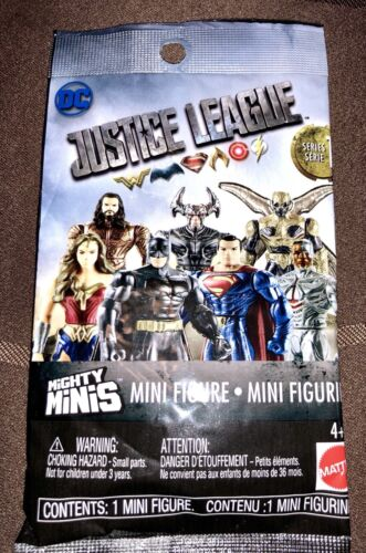 Justice League Mighty Minis Superman Mini Figure Blind Bag Series 1