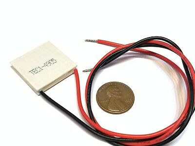 8.5 A CP85238 Thermoelectric Modules peltier Pack of 2 wire leads, 20 x 20 x 3.8 mm
