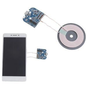 Details about 1Pc Qi wireless charger transmitter module coil circuit board  fast charg Pf