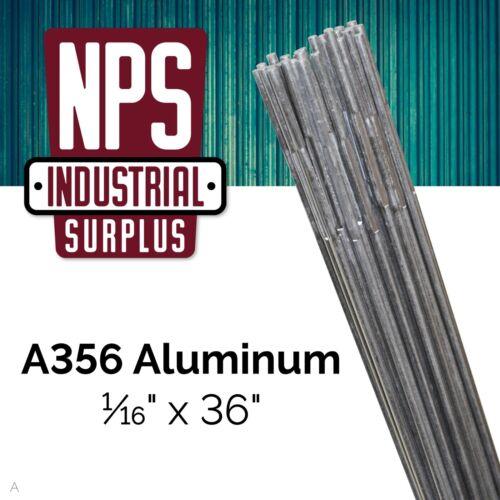 """FILLER Welding Rod 1//16/"""" x 36/""""   SA A356 Aluminum TIG * 1 LB"""
