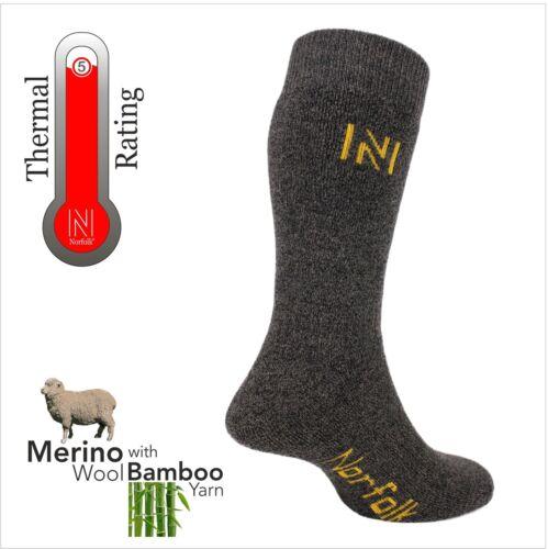 Merino Wool and Bamboo Blend Walking Socks Gabby Fully Cushioned By Norfolk