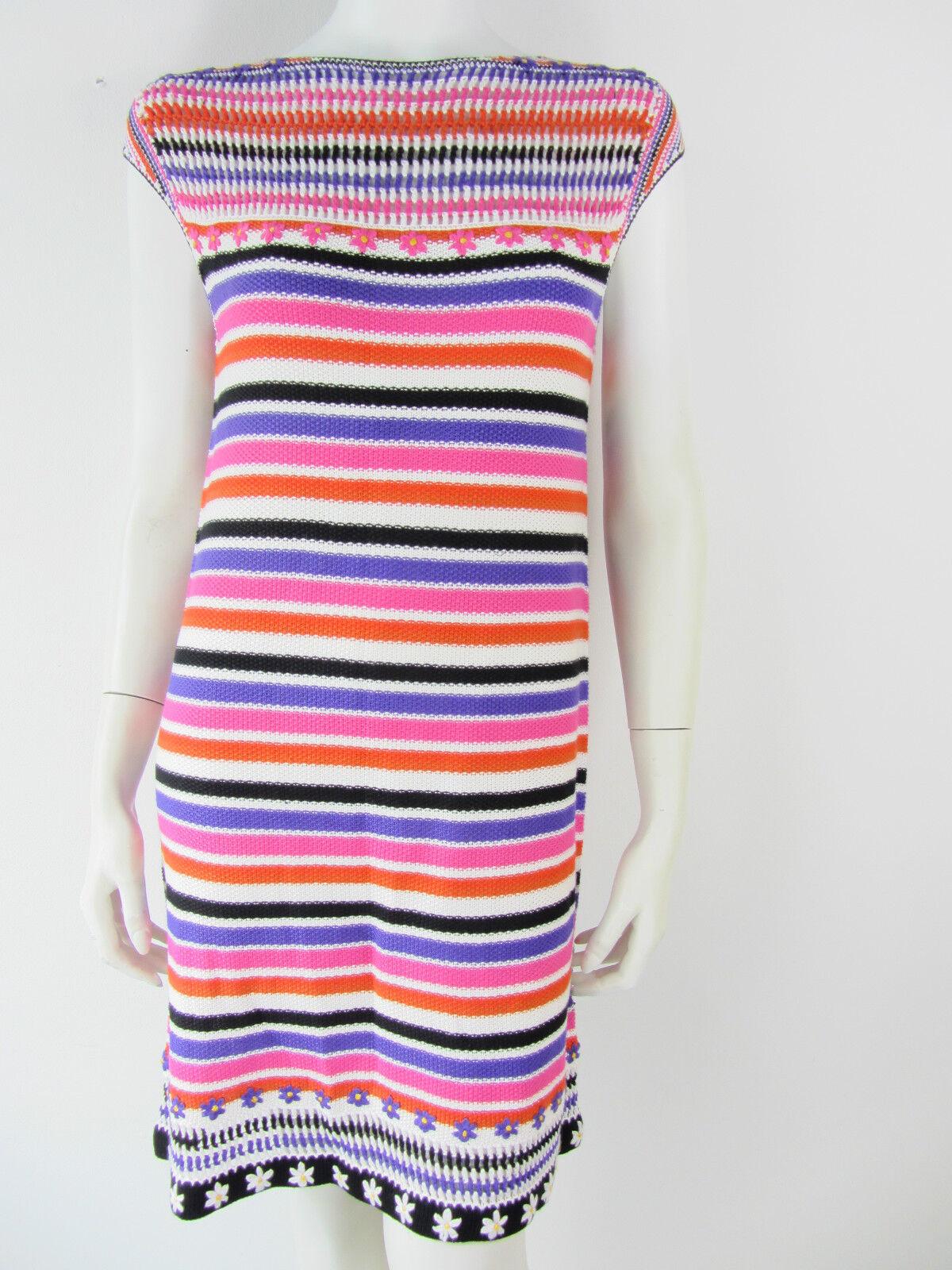 Just Cavalli Jurk Kleid Kleid Kleid Dress Lang Pulli Maglia Abito 34 38 30 XS M L UVP 50217a