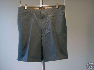 Club-Room-Men-039-s-Shorts-32-x-7-5-Blue-Macys-100-Cotton-Men-New-NWT