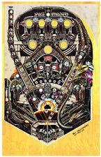 BALLY SPACE INVADERS Pinball Machine Playfield Overlay