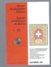 BBZ 1993-BERNER FRANCOBOLLI giornale - 10 numeri-compl.. annata!