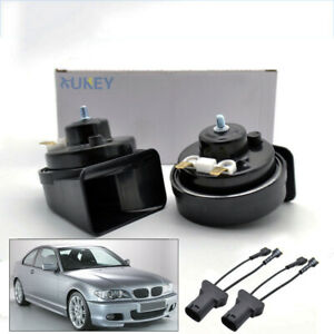 For-BMW-3-Series-E46-Snail-Horn-12V-110-125db-410-510Hz-Waterproof-Dual-Pitch