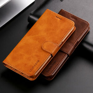 Lxury-Genuine-Real-Leather-Flip-Wallet-Stand-Case-Cover-For-Various-Cell-Phone